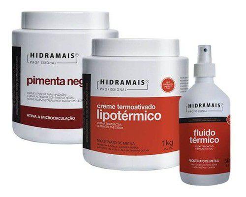 Kit Redução De Gordura E Medidas 3 Itens Hidramais