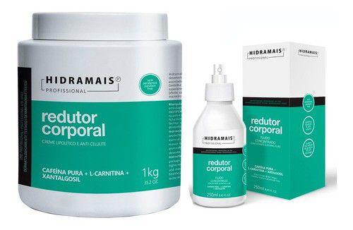 Kit Queima Gordura Redução De Medidas Hidramais Profissional