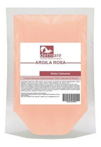 Argila Rosa 500g- Dermare Cosmeticos