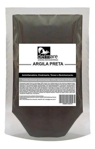 Argila Preta 500g - Dermare