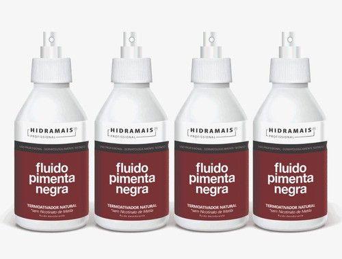 Fluido Pimenta Negra 250ml Hidramais - 4 Unidades