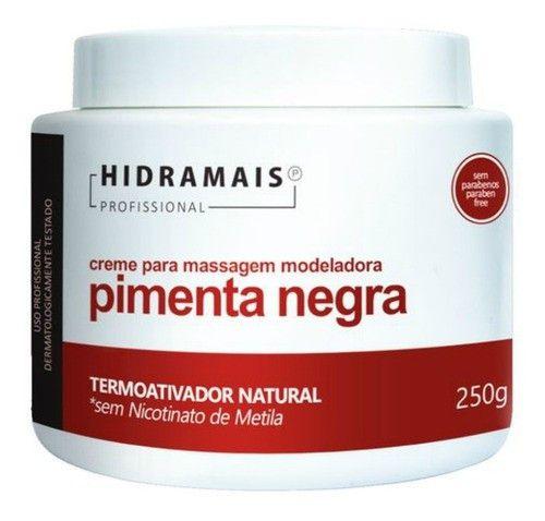 Hidramais Creme Para Massagem Modeladora Pimenta Negra 250g