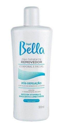 Depil Bella Oleo Removedor Algodão Pos Depilação 140ml