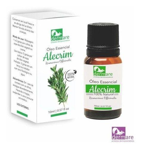 Oleo Essencial Alecrim Aromaterapia - Dermare