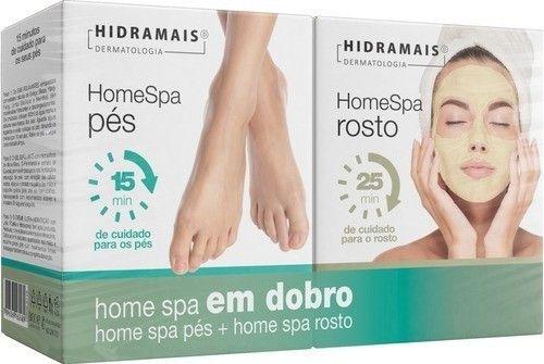 Kit Hidramais Home Spa Facial + Home Spa Pes