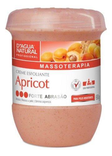 Creme Esfoliante Forte Abrasão Apricot 650g Dagua Natural