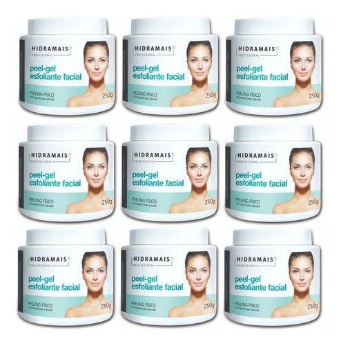 Esfoliante Facial Peel-gel 250g Hidramais - 9 Unidades