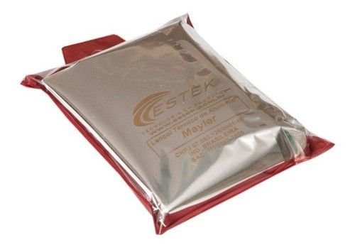 Lençol Termico Corporal Redução Medidas Aluminio 3x1m Estek