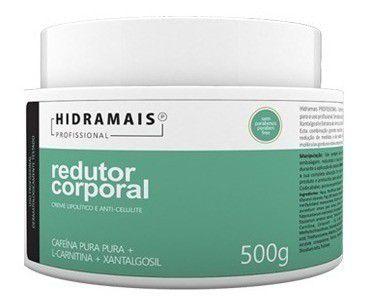 Creme Redutor Corporal Com Cafeina Pura 500g Hidramais
