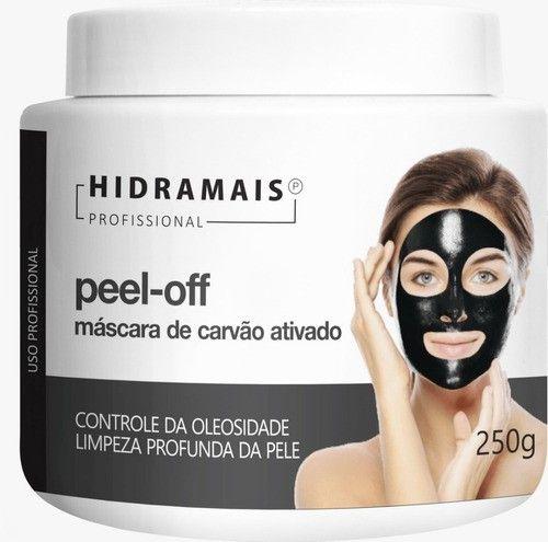 Mascara Peel-off Carvão Ativado 250g Hidramais