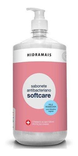 Sabonete Hidramais Liquido Antibacteriano Softcare 500ml