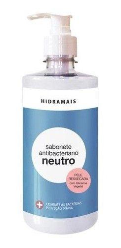 Kit C/04 Sabonete Liquido Antibacteriano Neutro 500ml