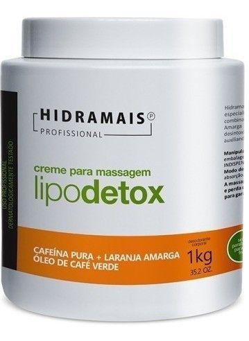 Creme Lipodetox 1kg Hidramais