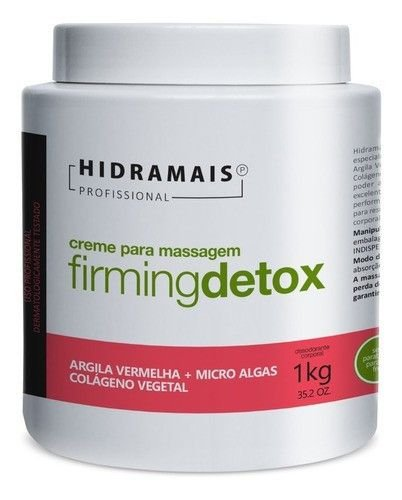 Kit 3 Creme Firmingdetox 1 Kg Hidramais