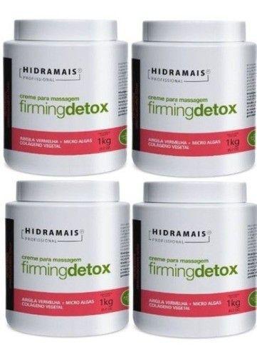 Kit Hidramais Com 4 Cremes Firmingdetox 1 Kg