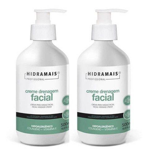 Drenagem Facial Hipoalergenico Hidramais 2x 500ml