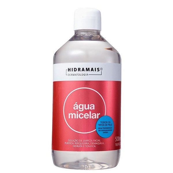 Agua Micelar 500ml Hidramais - 6 Unidades