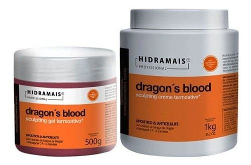 Gel E Creme Anticelulite Dragons Massagem Corporal Hidramais