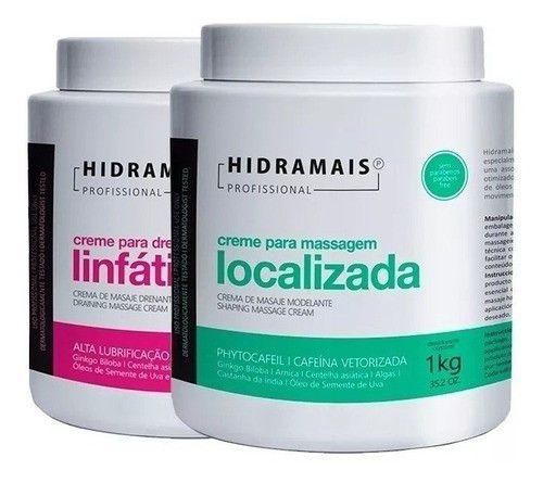 Kit Hidramais Drenagem Linfatica + Localizada 1kg