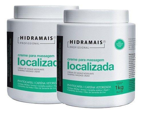 Kit Hidramais Drenagem Linfatica Ou Localizada 1kg C/2