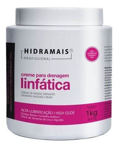 Creme De Massagem Drenagem Linfatica Hidramais 1kg