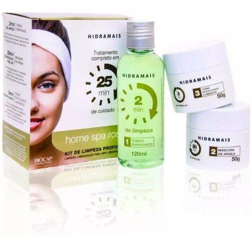 Limpeza Facial Rosto Skin Care Kit Hidratação