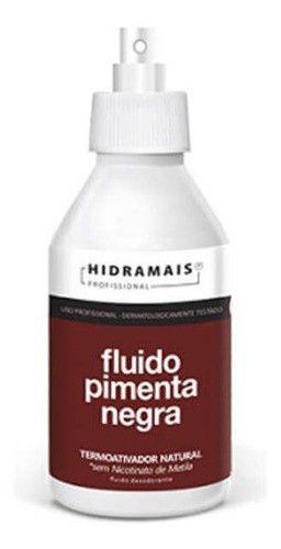 Hidramais Fluido Termoativador Pimenta Negra 250ml