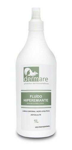 Fluido Hiperemiante Redutor De Medidas 1l Dermare