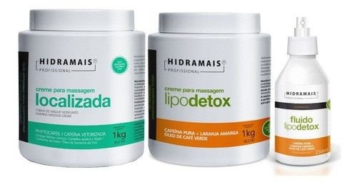 Hidramais Profissional Cr.lipodetox+fluido Lipodetox+localiz