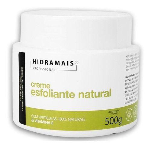 Creme Esfoliante Natural Hidramais Vitamina E - 500g