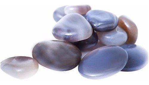 Kit De Pedras Para Massagem Com 12 Pedras Naturais