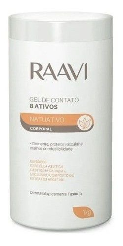 Gel De Contato Com Ativos 1kg Raavi Original