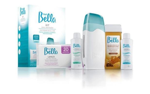 Kit Para Depilação Cera Quente Roll On Termocera Depil Bella
