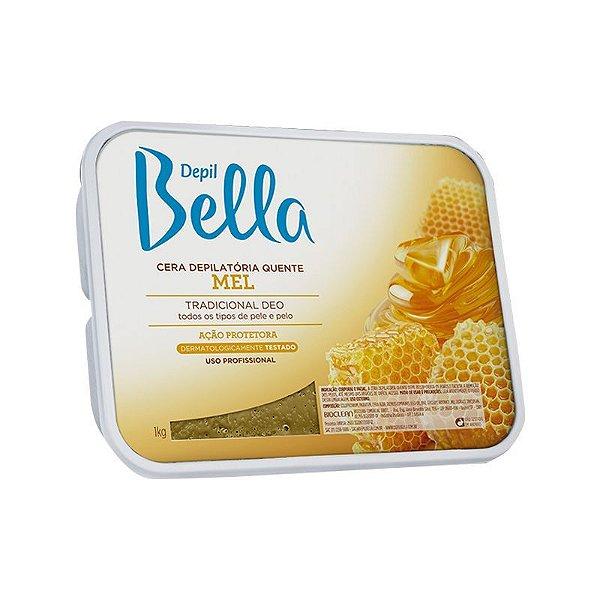 Cera Depilatoria De Mel Depil Bella - 1kg