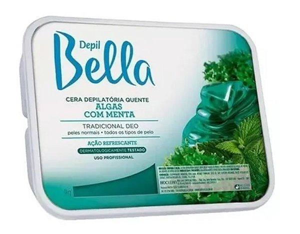 Cera Depilatoria Algas  Depil Bella Para Depilação Quente 1 KG