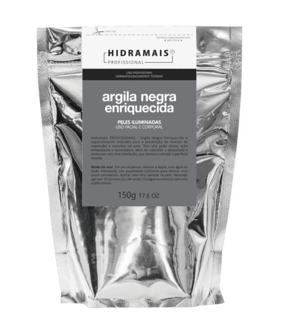 Argila Negra Em Po 150g Hidramais Profissional
