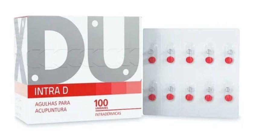Agulha Para Acupuntura Intradermica (0,12 X 9,0)mm - Dux