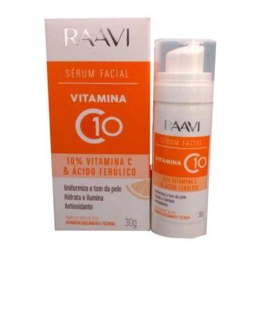 Serum Facial Raavi Vitamina C 10 30g