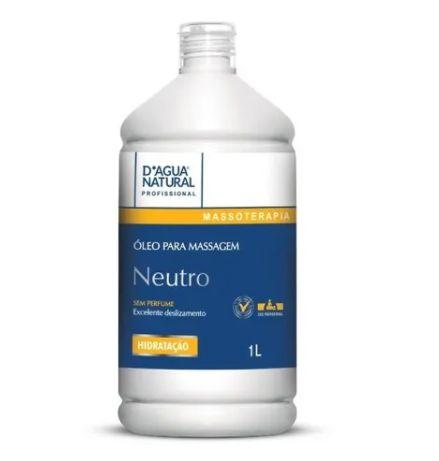 Oleo Para Massagem Neutro Massagista 1 Litro Natural