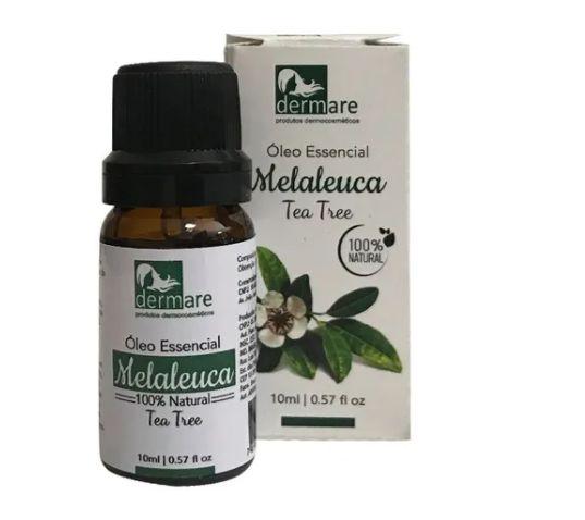 Oleo Essencial Melaleuca Para Aromaterapia 10ml Dermare
