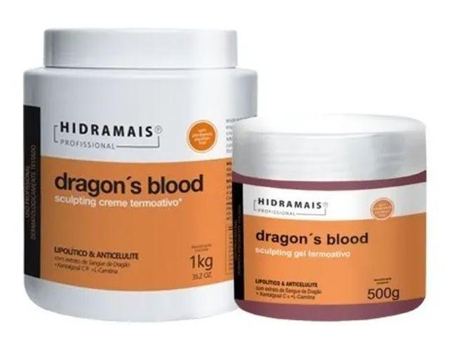 Kit Hidramais Dragon Blood ( Creme + Gel )