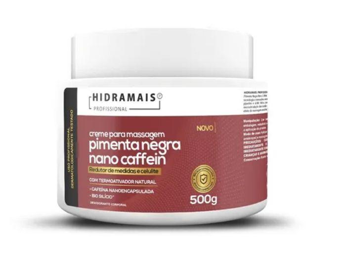 Creme Nano pimenta negra 500g Hidramais