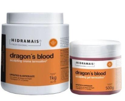 Kit Hidramais Dragons Blood 1kg + Dragons Blood 500g