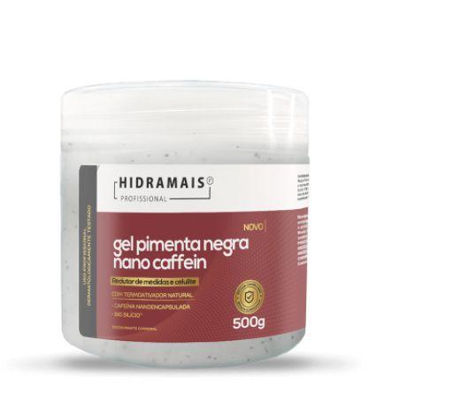 Gel Pimenta Negra Nano Caffein 500g