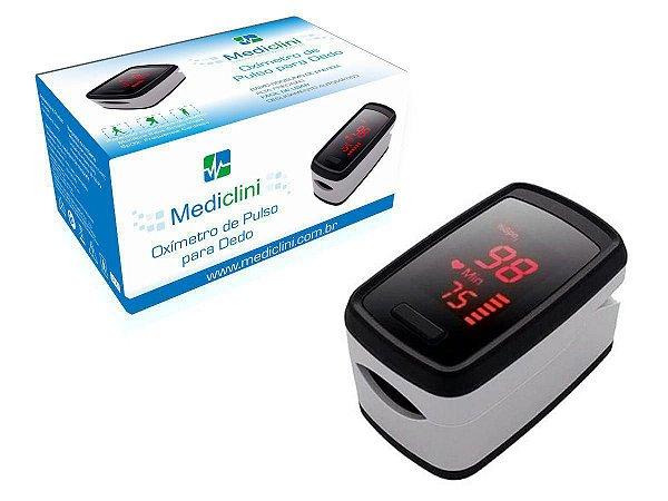 Oximetro De Dedo Portatil Adulto Mediclini - Bioland