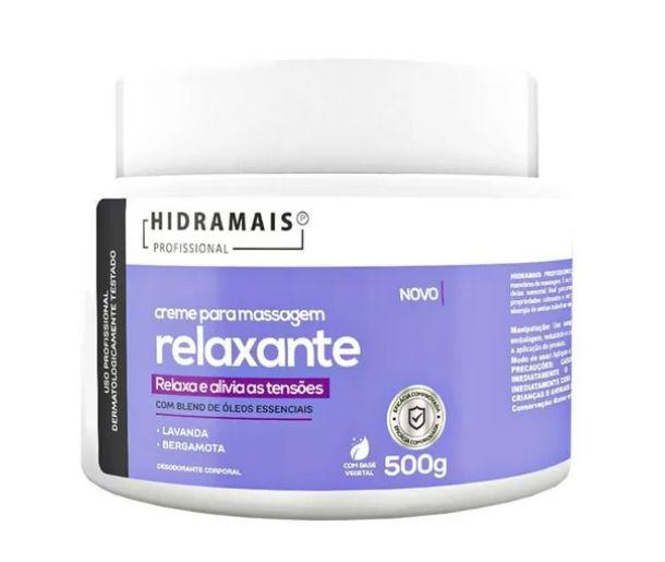 Creme Para Massagem Relaxante Blend Oleos Essenciais 500g