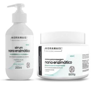 Kit Nano Enzimatico Creme+serum