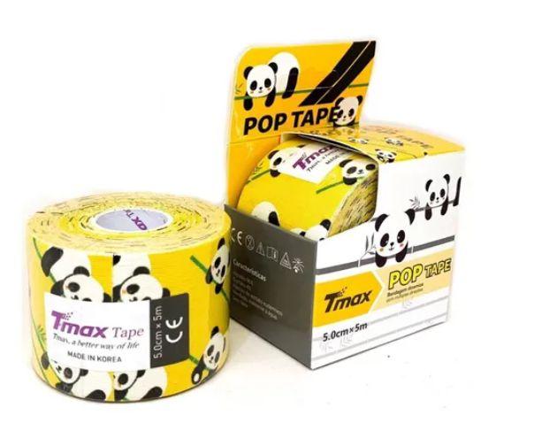 Fita Bandagem Kinesio Tape Tmax - Original - Panda