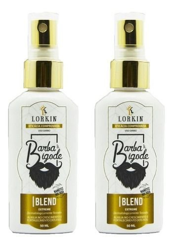 2 Blend Lorkin - Cresce Barba E Bigode - Blend Extreme
