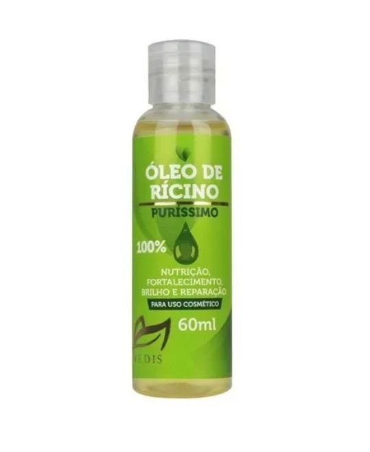 Oleo De Ricino 100% Puro Vedis - 60ml